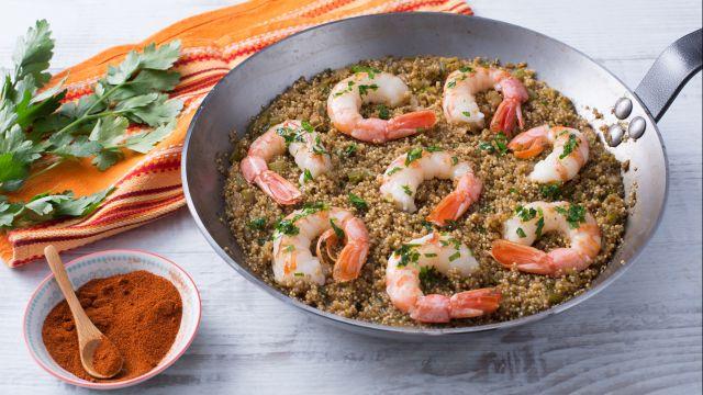 One-pot quinoa