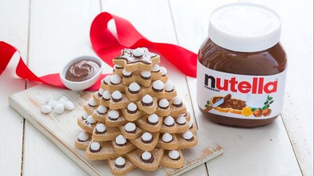Alberello di biscotti e Nutella®