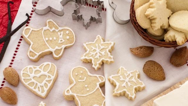 Biscottini di Natale alle mandorle
