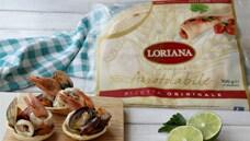 Cestini di piadina con insalata di mare